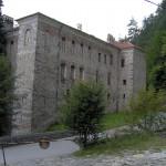 rila monastery - the outer wall