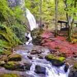 teteven waterfall skoka - the river