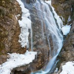 teteven waterfall skoka - winter ice