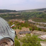panoramic view of the city of Lovech