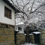 old houses at the Varosha in Lovech city