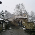 panoramic view of the church at Varosha in Lovech city