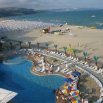 the SPA resort of Albena in the region of the city of Dobrich - Bulgaria