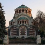 the mausoleum of the fallen russian and romanian soldier during the Pleven siege in the Russian-Ottoman war for the liberation of Bulgaria