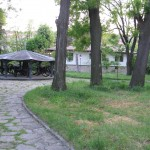 the museum in the town of Byala - honoring the war for the Liebration of Bulgaria