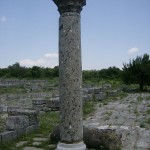 the archaeological reserve of the great ancient capital of Bulgaria - Pliska