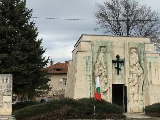 Паметник – костница на Ботевите четници –  с. Скравена